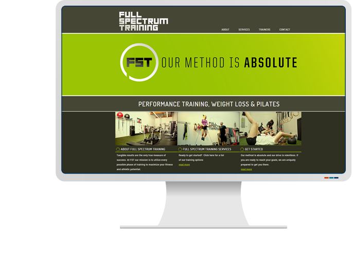 Full Spectrum Training - Website Design & Web Development for CMS Website