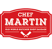 Chef Martin Sausage -Responsive Website Design & Web Development for Food Service Catalog CMS Website