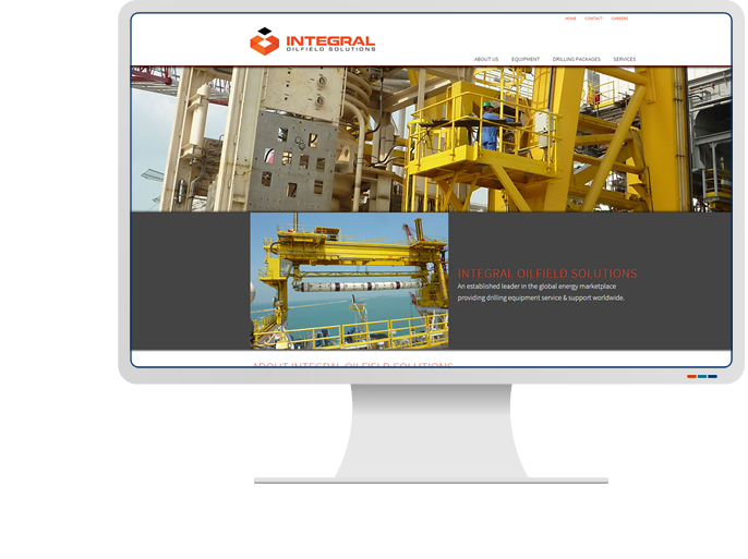 Integral Oilfield Solutions - Website Design & Web Development for CMS Website