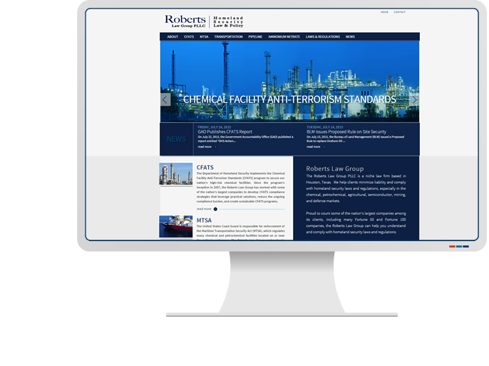 Roberts Law Group - Website Design & Web Development for Law Firm CMS Website